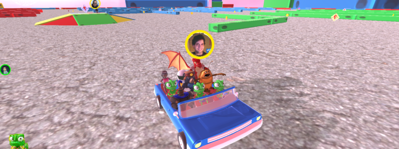 So many characters in a vehicle that we don't have as much yet to fill it (without repeating) :)